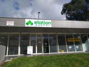 Elation Dental sign